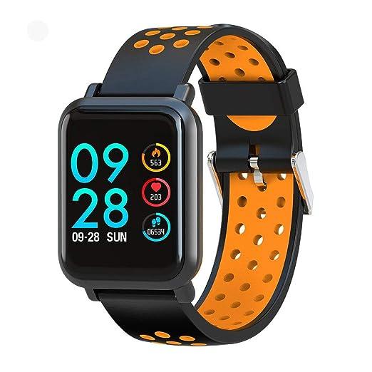 WCPZJS Reloj Inteligente Smartwatch S9 2.5D con Pantalla Gorilla ...