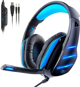 Auriculares Gaming para PS4, Beexcellent GM-3 Auriculares para ...