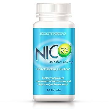 Amazoncom Nicrx Natural Anti Smoking Pills With Lobelia To Help