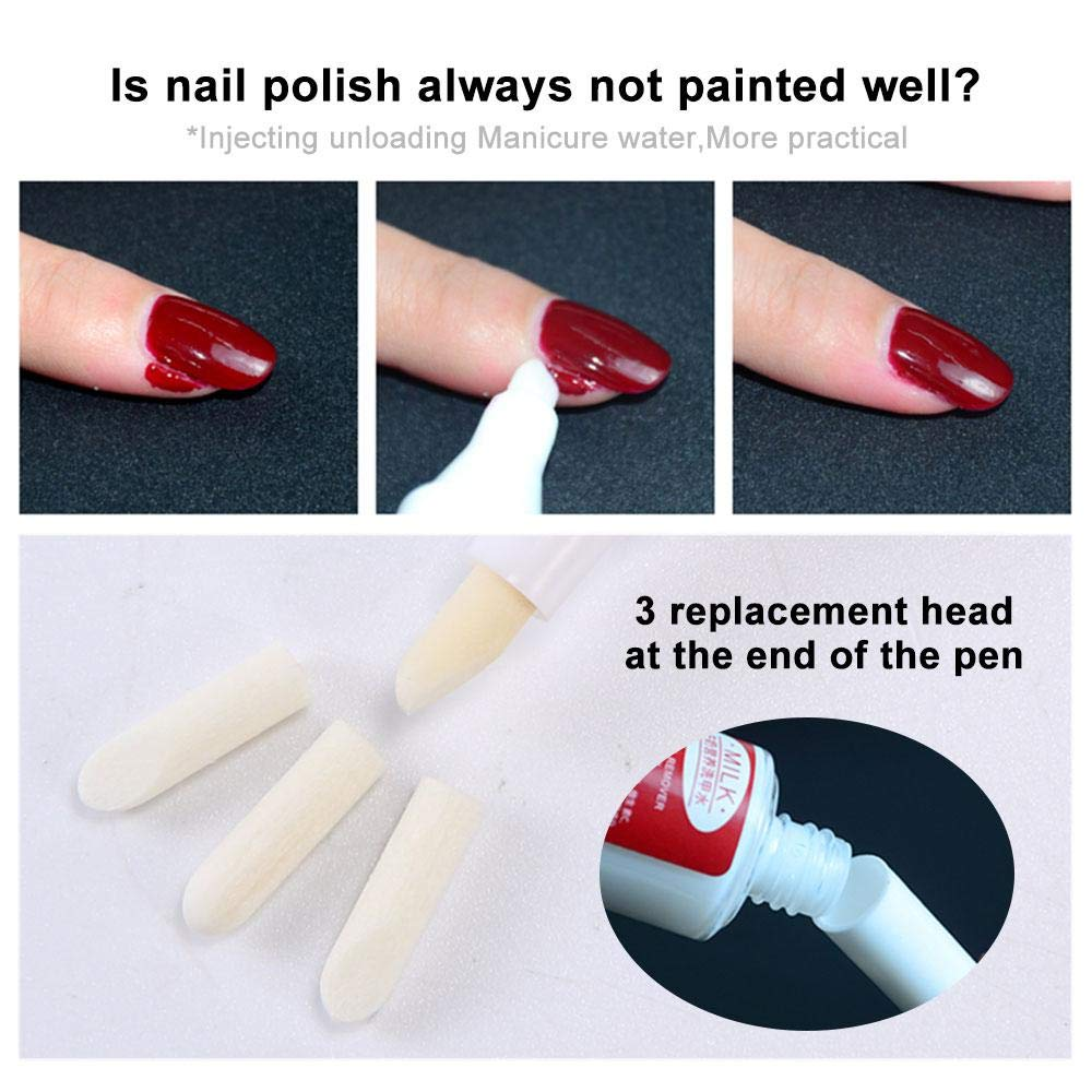 Manicura Bol Soaker, Juego de removedor de esmalte de uñas con cuenco de manicura, botella dispensadora, tapón de gel UV, papel de aluminio, ...