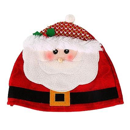 Amazon.com: BESTOYARD Gorro de Navidad con dibujos animados ...