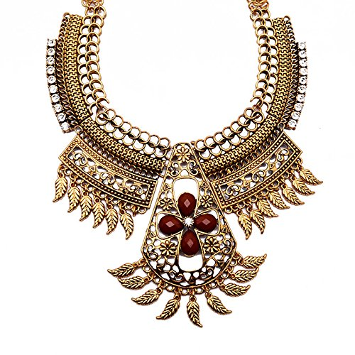 [Hot Fashion Cross Totem Costume Gold Jewelry Unique Pendant Necklace Chunky Charm Choker For] (Costumes Jewelry Online)