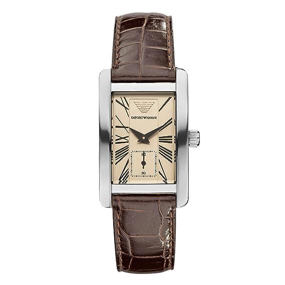 69956d95bab7 Emporio Armani Classic AR 0155 - Reloj analógico de cuarzo para mujer