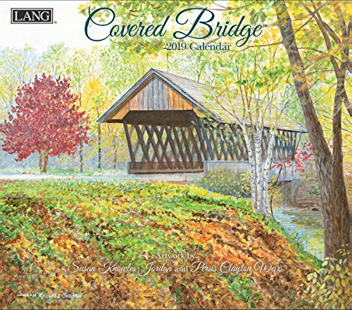 The LANG Companies Covered Bridge 2019 Wall Calendar (19991001908)