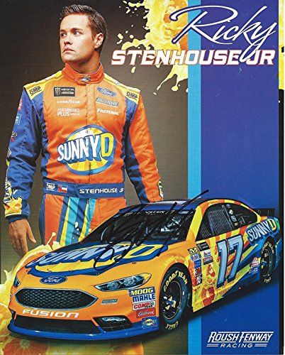 AUTOGRAPHED 2017 Ricky Stenhouse Jr. #17 Sunny D Ford Fusion Team (Roush Fenway