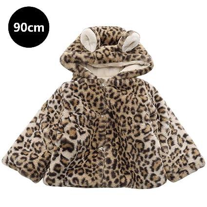myonly - Abrigo de Invierno para bebé, diseño de Leopardo, Myonly, 1 a
