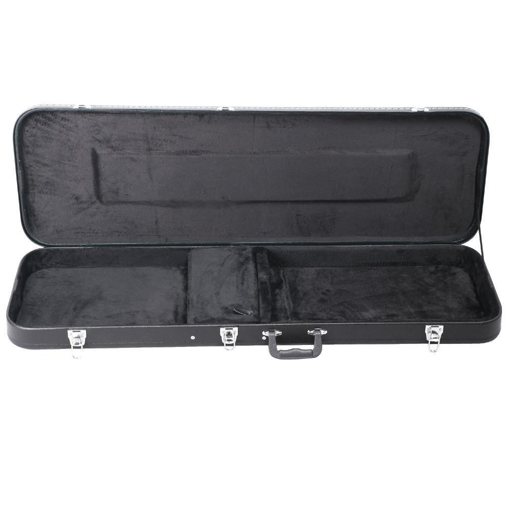 Yaheetech Electric Bass Guitar Hard Case Black