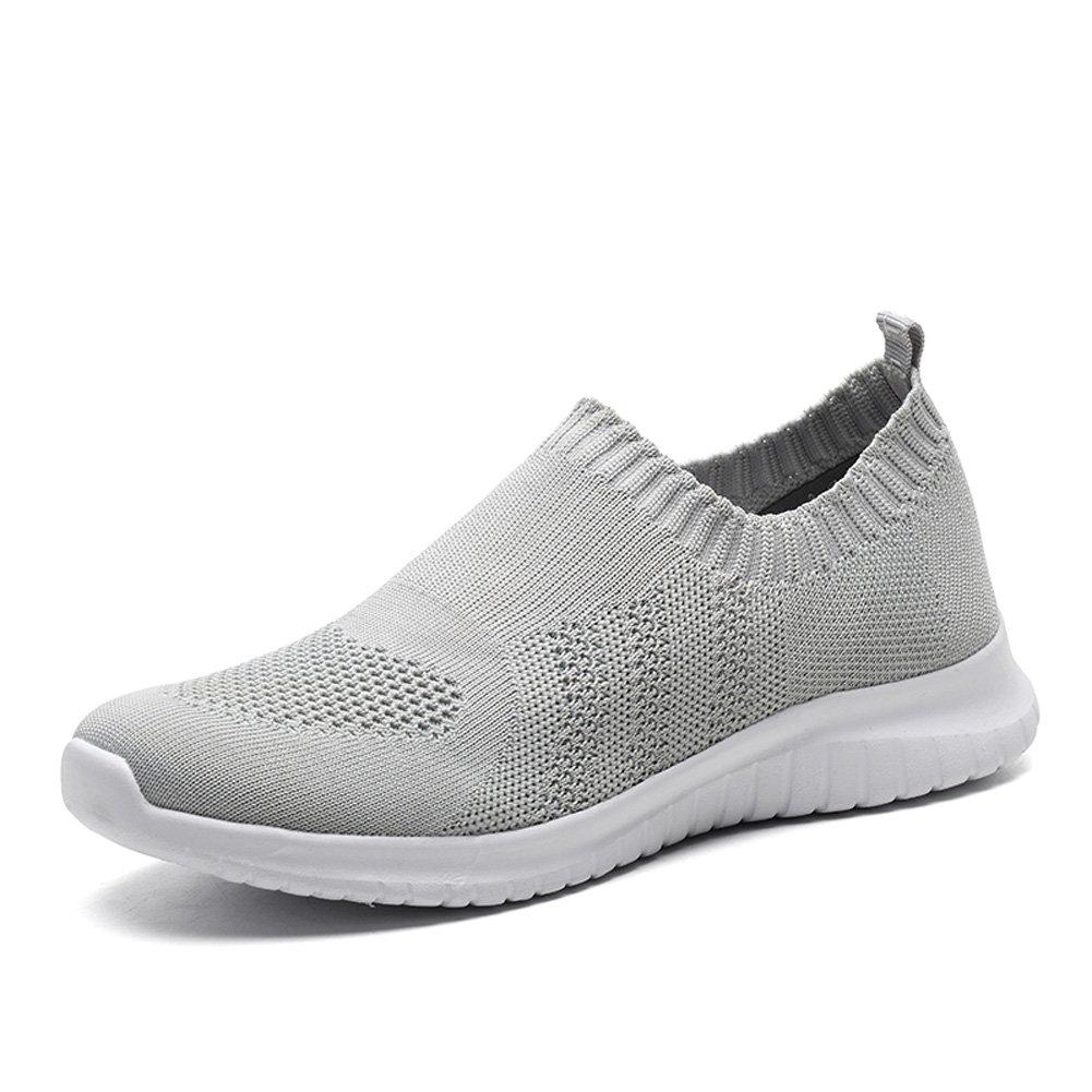 TIOSEBON HK2133, Damen Walkingschuhe  38 EU 2132 Light Grey