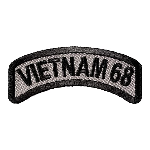 Bottom Rocker Iron on Harley Military Club Back Patch Veteran