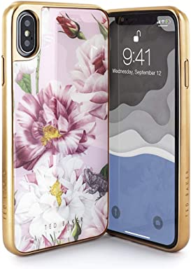 9223ac6b4a6a26 Ted Baker Fashion Premium Tempered Glass Case for iPhone XS Max