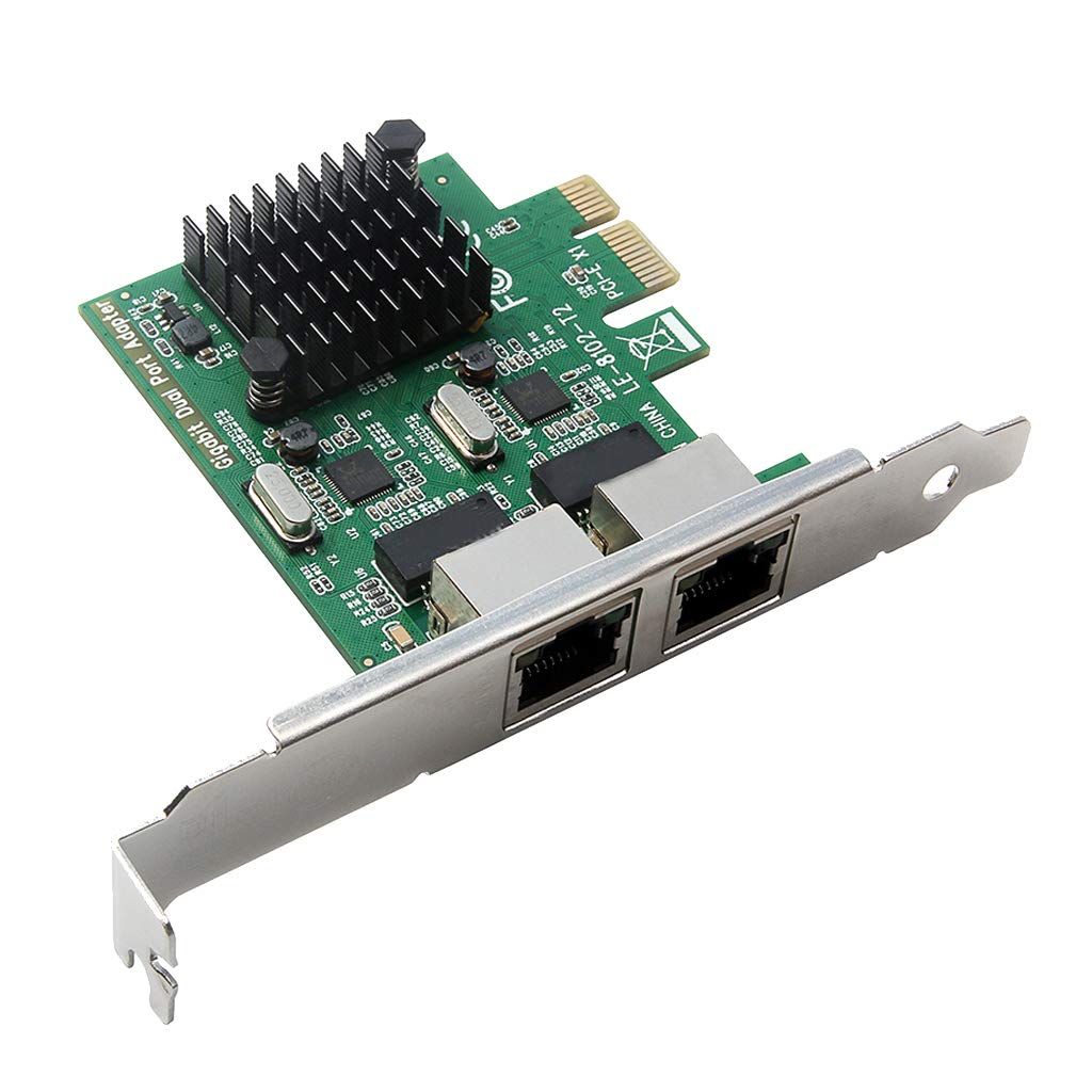 Sharplace Adaptador Tarjeta de Red Ethernet Gigabit PCI-E X1 ...