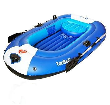 sgtrehyc Juego de barcos hinchables para 4 personas con ...