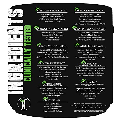 NorthBound Nutrition Pinnacle Pre-workout Powder