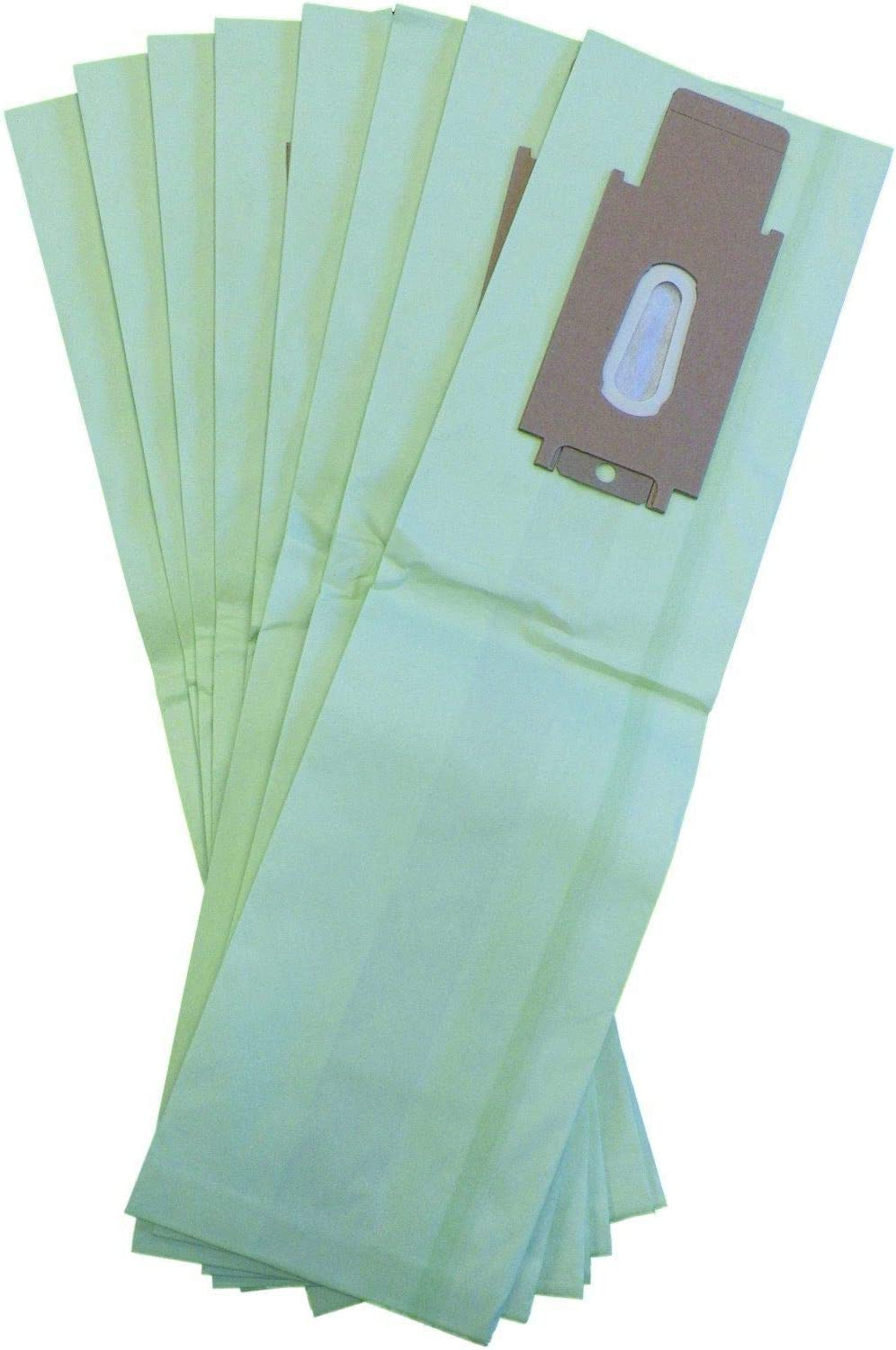 DVC Green Double Wall Type CC Compatible With Oreck XL Upright Vacuum Cleaner Bags (Pack of 8)