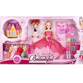 Amazon.es: Juego de moda de muñecas para disfrazarse Muñecas ...