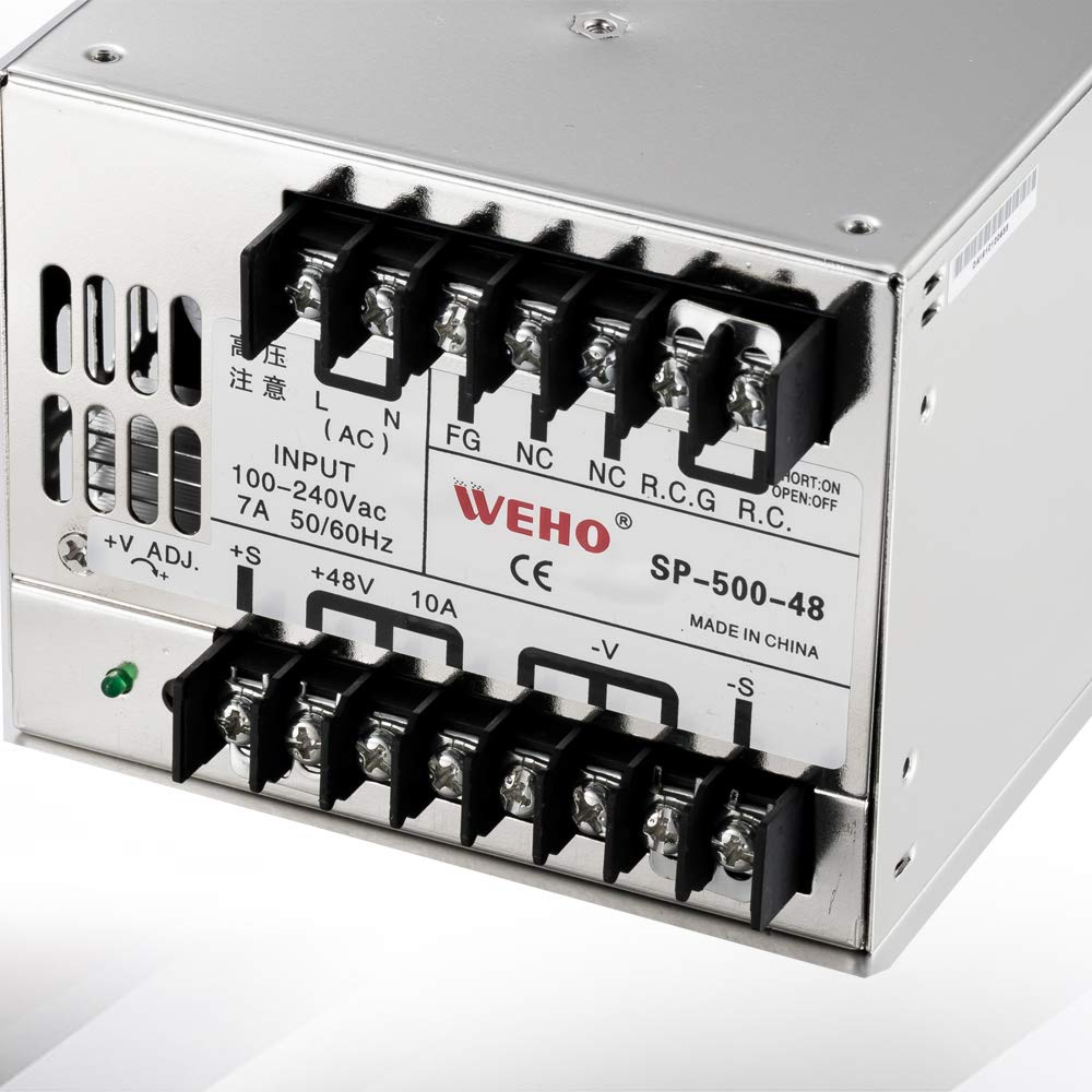 SP-500-24 24V dc Single Output 500w high Efficiency Power Supplies with PFC Utini