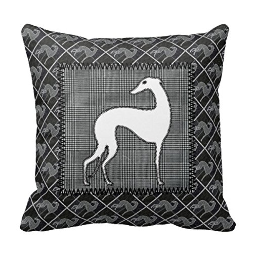 Starings Pillowcase Greyhound Prince of Wales Throw Pillow Cover