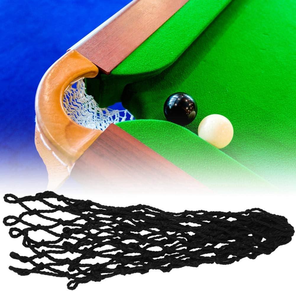 Alomejor 6 Piezas De Billar Netos Ahuecables Redes De Bolsillo para Billar Trainning Spair Table Bag(Black): Amazon.es: Deportes y aire libre