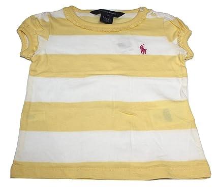 Polo Ralph Lauren - Camiseta - para bebé niña Amarillo Amarillo 24 ...