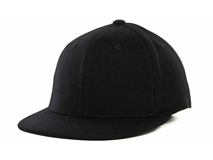 5b0350a9a Top Of The World By Lids Men's 86 Stretch Fitted Blank Baseball Hat Cap  (Small