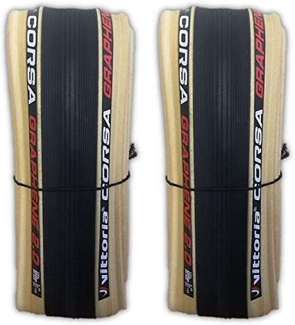 Vittoria Corsa G Graphene clincher 700 x 28 all black 2 tires