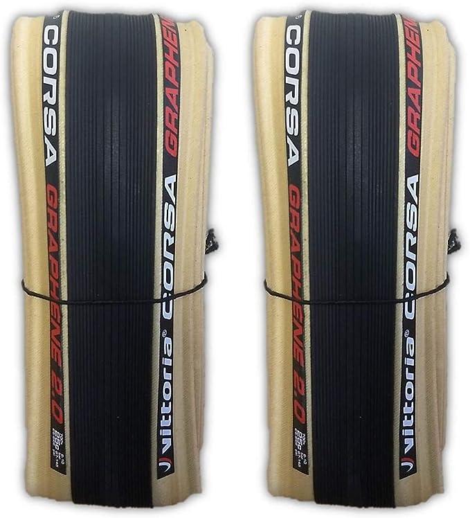 Vittoria Corsa G 2.0 Graphene clincher 700 x 25 all black with free tube option