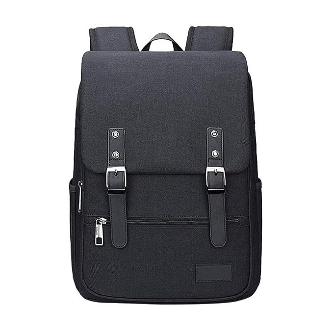 Zhhlinyuan Hombres Estudiantes Moda Mochilas Laptop Daypack Gran Capacidad - Casual Durable Impermeable Backpack: Amazon.es: Ropa y accesorios