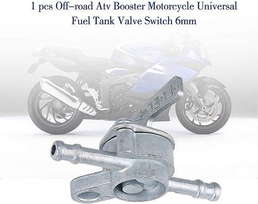 Candybarbar PC 1 Todo Terreno ATV Booster Partes de Motos Universal Modificado Gasolina Accesorios de Combustible del Tanque de Aceite v/álvula de conmutaci/ón de 6 mm