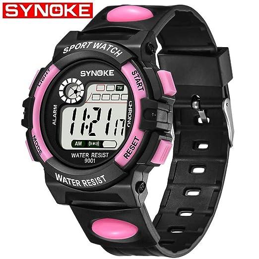 49301bd2a793 sportuhr synoke Reloj Deportivo Reloj Digital Reloj electronico Chico   Amazon.es  Relojes