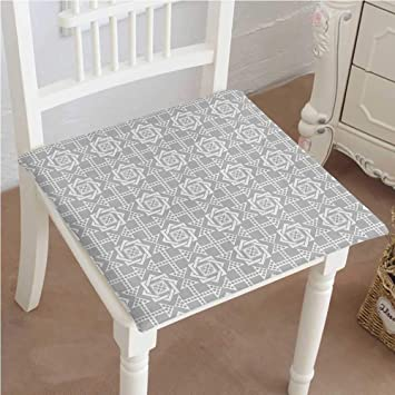 Amazon.com: Cojín para silla de exterior, cuadrados, patrón ...