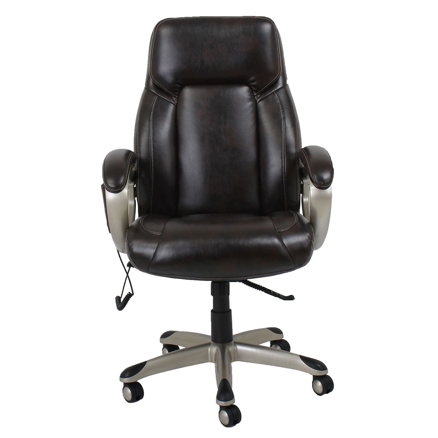 Amazon Barcalounger Shiatsu Massage fice Chair Brown