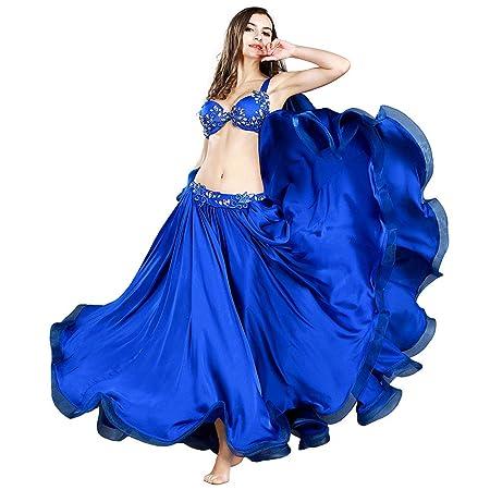 ROYAL SMEELA Vestidos de Danza del Vientre Faldas de 12 Yardas ATS ...