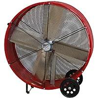 MaxxAir Barrel Fan - Direct Drive, 36in., Model# BF36DD Red