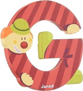 Janod 04554 Buchstaben Clown M 12er Pack
