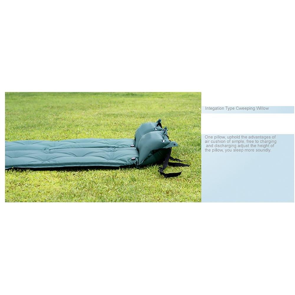 MIAO Cojín inflable automático, 3.5cm acampa Espesamiento que acampa 3.5cm con la almohadilla Alfombrillas , Azul 83ec3d