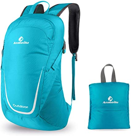 40L Packable Backpack Lightweight Foldable Camping Travel Outdoor Cycling School