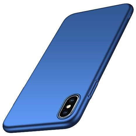 coque iphone xs max apple bleu