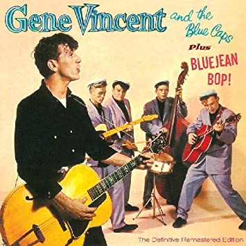 d7fd7b54503 Image Unavailable. Image not available for. Color  Gene Vincent   The Blue  Caps + Blue Jean ...