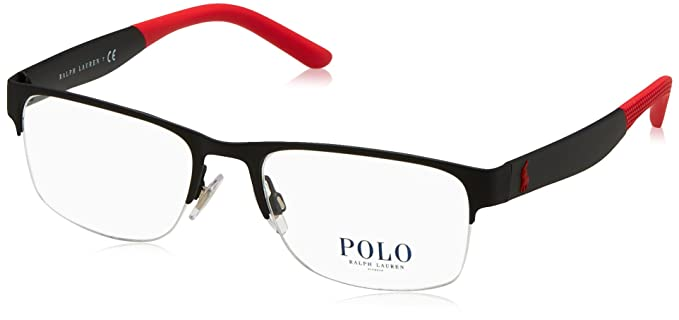 2d363395e065 Image Unavailable. Image not available for. Color: Eyeglasses Polo PH 1168  9319 RUBBER BLACK