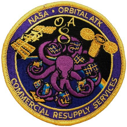 NASA CRS Orbital ATK OA 8 Official Patch for sale  Delivered anywhere in USA