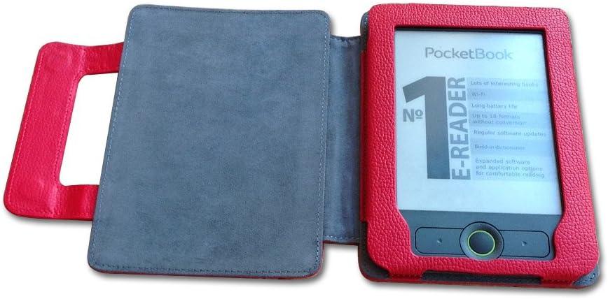 Fuax – Funda de Piel para Pocketbook Basic 3, para Pocketbook 611, para Pocketbook 613: Amazon.es: Electrónica