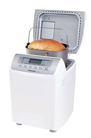 Panasonic Automatic Bread Maker - Panificadora (Blanco, 120AC, 60Hz, 281 mm,