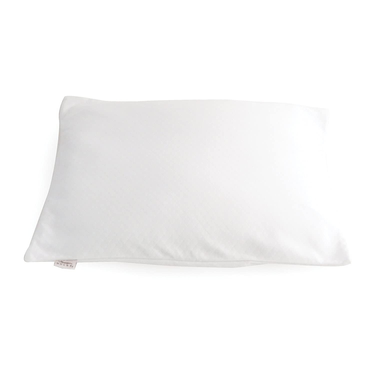 Bucky Duo Buckwheat/Millet Travel Bed Pillow Bucky Large Duo Bed Pillow White One Size BUCRN