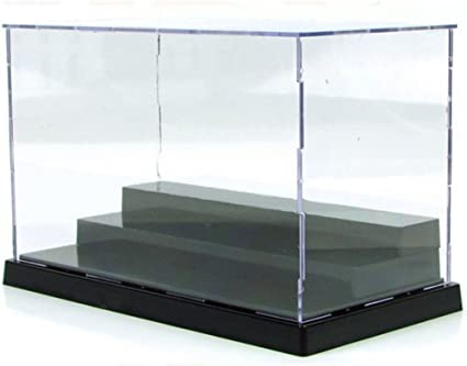 Acrylic Clear Display Box Assembled 3-layer for Building Blocks Bricks Toys