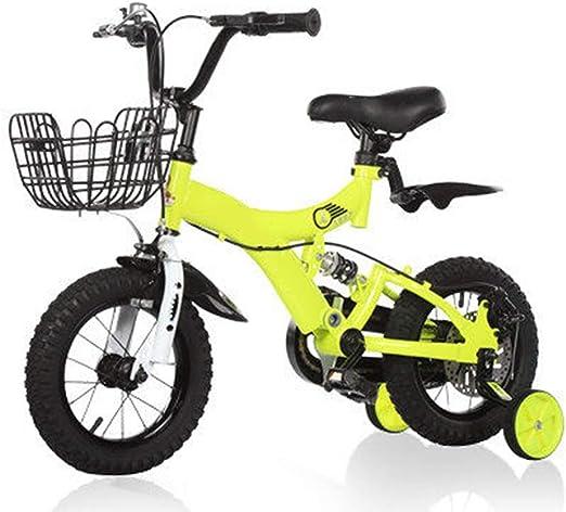 YUMEIGE Bicicletas Bicicleta Infantil con Frenos de Disco ...