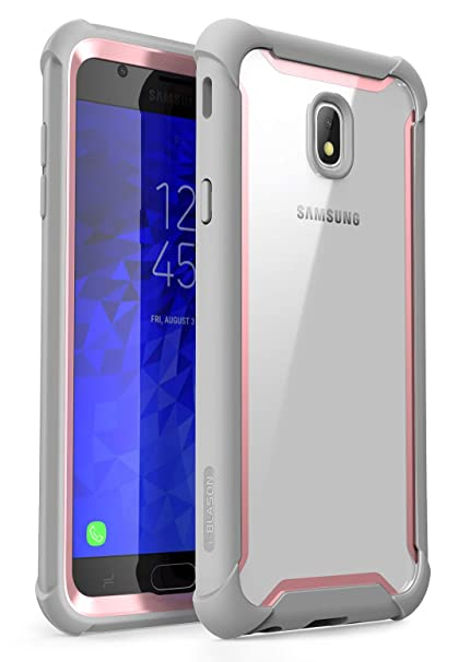 save off 67c67 7e2eb Samsung Galaxy J7 2018 Case, i-Blason [Ares] Full-Body Rugged Clear Bumper  Case with Built-in Screen Protector for Galaxy J7 (SM-J737 2018 Release) ...