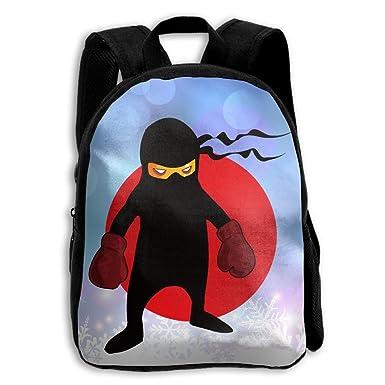 Amazon.com: Los niños Ninja Arte Marcial de boxeo mochila ...