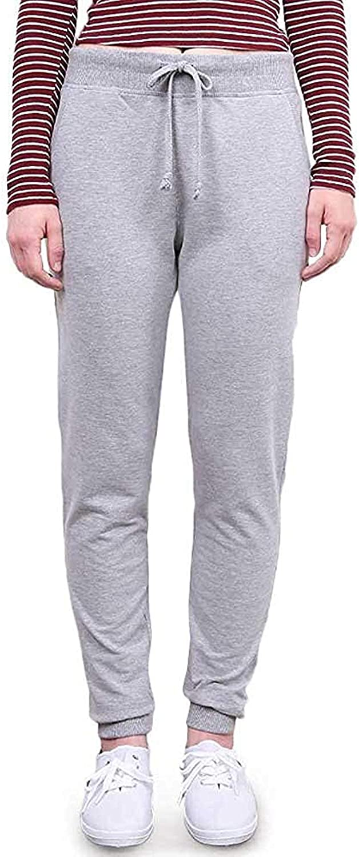 Ambiance Womens Juniors Soft Jogger Pants