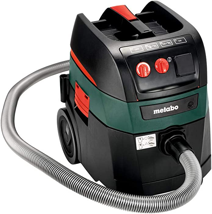 Metabo ASR 35 AutoCleanPlus 11 AMPS 9 Gallon AutoClean HEPA All-purpose Vacuum Cleaner 157 CFM (602057800)