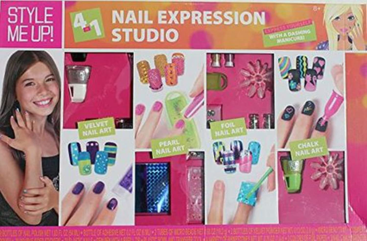 Amazon.com: Nail Expression Studio 4 in 1: Clothing